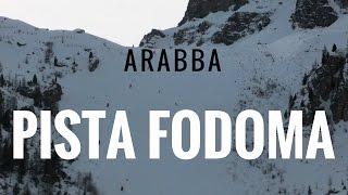 getlinkyoutube.com-Piste da sci Arabba, pista nera Fodoma