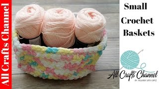 getlinkyoutube.com-Easy to crochet storage containers