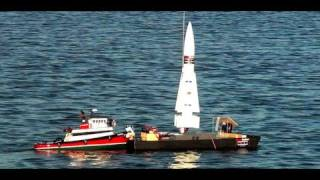 getlinkyoutube.com-Model Rocket w/Camera Crashes At Sea