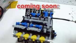 getlinkyoutube.com-LEGO LPE v8 engine (1500rpm)