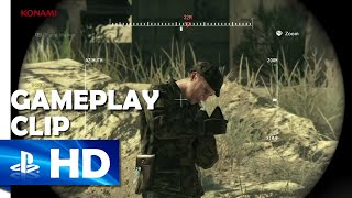 """getlinkyoutube.com-Metal Gear Solid V: The Phantom Pain - """"Supply Drop on Enemy Soldier!"""" Gameplay Clip - PS4, & PS3"""
