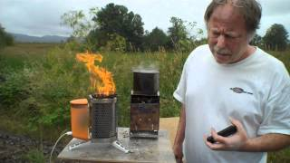 getlinkyoutube.com-BioLite Charging Test - using iPhone 4S and comparing with Cup Charger and FireBox Stove Day 3