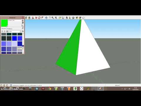 registrazione piramide a base quadrata  Crombi