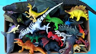 New Dinosaurs Box Toys Dragons Animals Giant Crocodile Shark Roboraptor Jurassic Park
