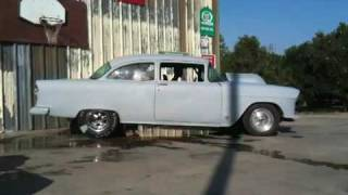 getlinkyoutube.com-55 Chevy burnout