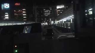 getlinkyoutube.com-【山手線E235系】新型車両の先頭、運転席からの映像(色調調整)