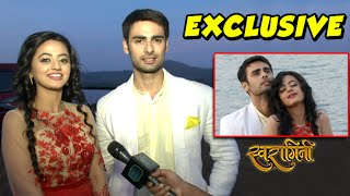 getlinkyoutube.com-Exclusive Interview: Swara & Sanskaar Talk About Their Romantic Dance | #SwaSan| Colors