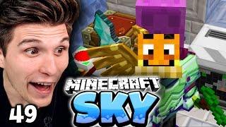 WIR KÖNNEN WIEDER UNENDLICH FLIEGEN! & MAUDADOS ROBOTER GEHEIMNIS! ✪ Minecraft Sky  #49 | Paluten
