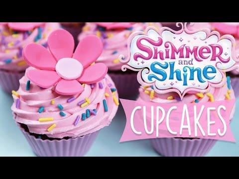 SHIMMER AND SHINE CUPCAKES DIY