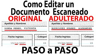getlinkyoutube.com-Como Editar un Documento Escaneado Paso a Paso (Fácil)