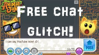 getlinkyoutube.com-How to get free chat for Jammer Wall! GLITCH (Animal Jam)