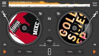 Edjing DJ studio music mixer free and premium edition!