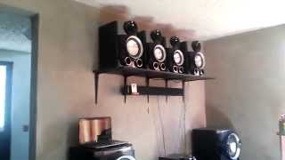 getlinkyoutube.com-Car Audio En Casa--Martin Garrix Animals ksm 1506 + 2 hifonics brutus 15''