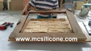 getlinkyoutube.com-MC silicone -Artificial stone mold making way
