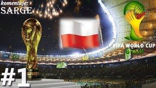 getlinkyoutube.com-Testujemy grę 2014 FIFA World Cup Brazil (PS3 gameplay #1) - Reprezentacja Polski (Zagrajmy w)