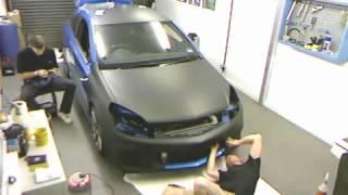 getlinkyoutube.com-Opel Astra Mat Siyah Kaplaması