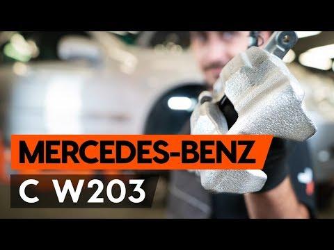 Как заменить передний тормозной суппорт MERCEDES-BENZ С W203 (ВИДЕОУРОК AUTODOC)