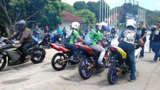 getlinkyoutube.com-1st Gathering Kawasaki Kips RR Malaysia 2016 (semarakkan exhaust)
