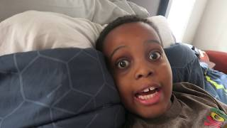 getlinkyoutube.com-Bad Baby NAILS IN FINGER! - Shasha and Shiloh- Onyx Kids