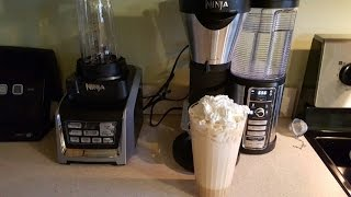 getlinkyoutube.com-NINJA COFFEE BAR CARAMEL FRAPPUCCINO STARBUCKS STYLE