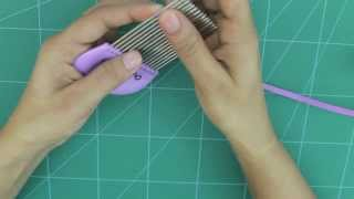 getlinkyoutube.com-How to Use Quilling Comb