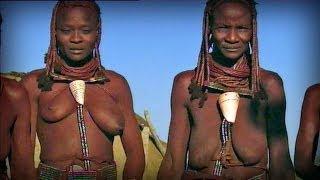 getlinkyoutube.com-Red skinned women (Himba tribe - Namibia)