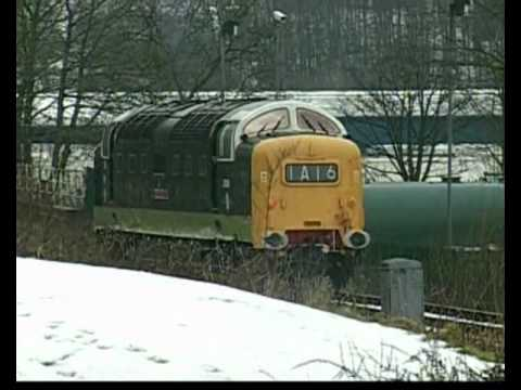 DELTICS 16/22 On Driver Training fr 10th Feb 2012 On E.L.R. LOCO TV UK.