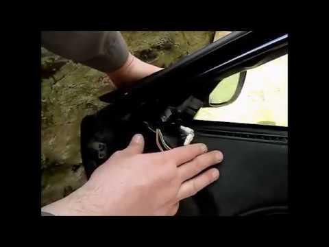 Как заменить внешнее зеркало на Alfa Romeo 166 (Русский)