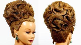 getlinkyoutube.com-Arabic wedding hairstyle for long hair tutorial