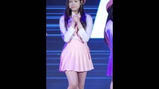 151206 롯데월드 후레쉬 콘서트 에이프릴 예나 꿈사탕 직캠