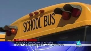 Echaron a conductor de autobus en Fort Myers
