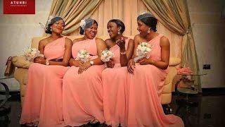 getlinkyoutube.com-Latest Bridesmaid Dress Styles for Nigerian & Black African Women