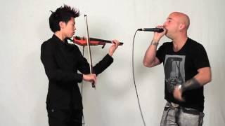 getlinkyoutube.com-Electric Violin and Beatbox: Moonlight Grenade