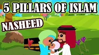 5 Pillars of Islam | Nasheed | Islamic Song | Islamic Cartoon | Islamic Videos | Story for Children