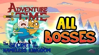 getlinkyoutube.com-Adventure Time: The Secret of the Nameless Kingdom All Bosses | Final Boss (PS3, X360)