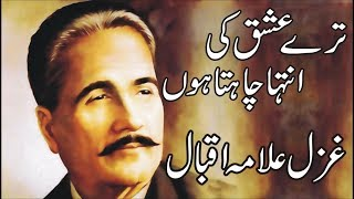 Tere Ishq Ki Inteha Chahta Hoon   Allama Iqbal Poetry In Urdu Love width=