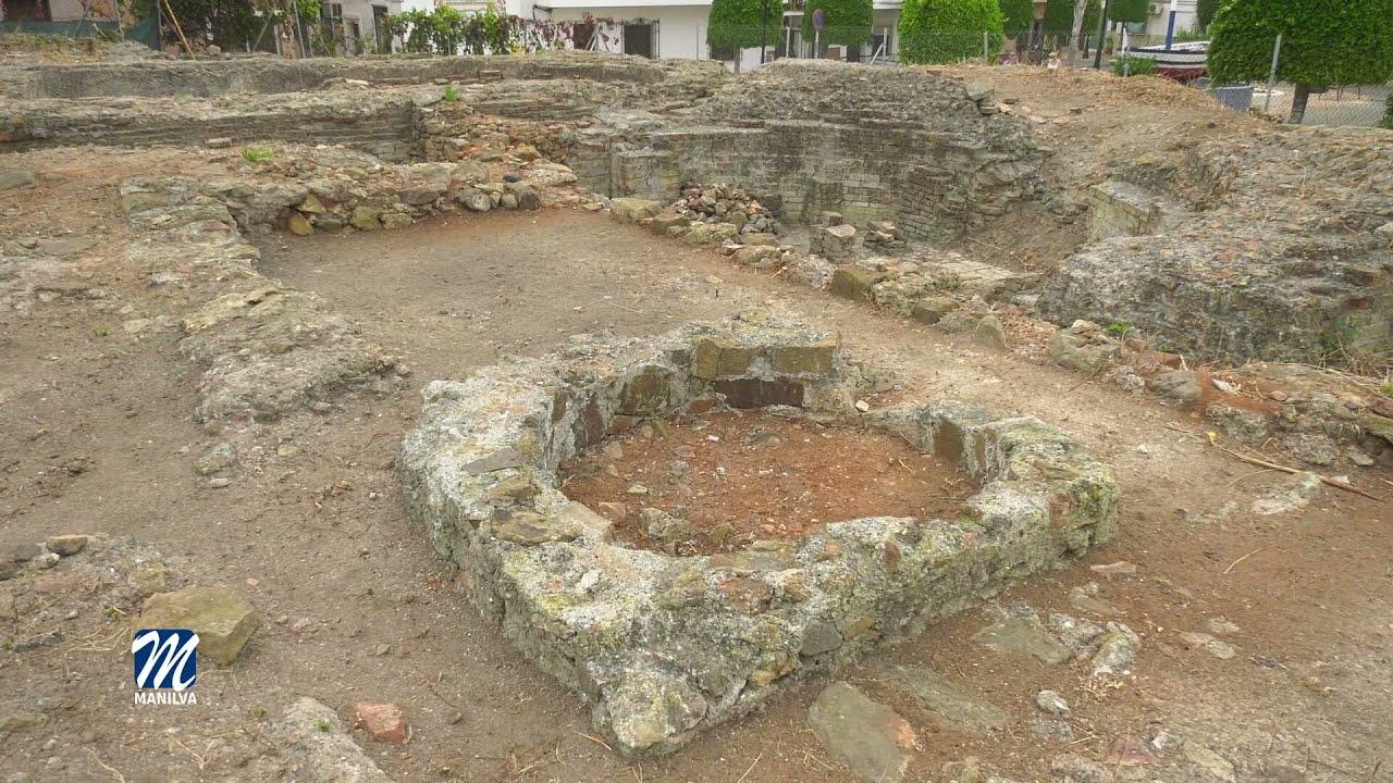 Visita a la zona arqueológica del Castillo