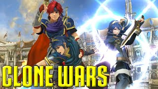 getlinkyoutube.com-Clone Wars: Roy VS. Marth VS. Lucina (The Differences)