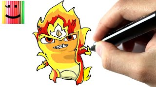 getlinkyoutube.com-Comment dessiner la slug élémentaire de feu - TUTORIEL - [ SLUGTERRA ] - CHRIS DESSINE