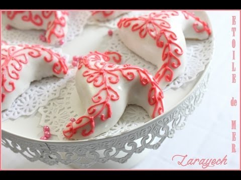gateau traditionnel algerien 2014 Larayech / Algerian Pastry Starfish