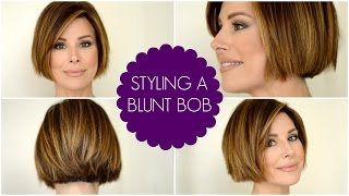 How To Style A Blunt Bob