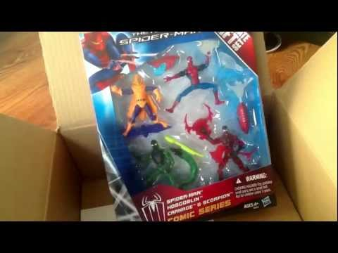 Amazing Spiderman ULTIMATE GIFT SET Carnage Scorpion Hobgobl