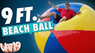 getlinkyoutube.com-Biggest Beach Ball You've Ever Seen!