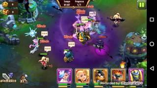 getlinkyoutube.com-Magic Rush Heroes - Fechando a Ilha da Cruzada com mais facilidade