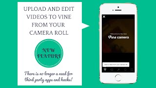 getlinkyoutube.com-How to upload videos and post them to Vine