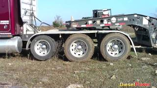 getlinkyoutube.com-Stuck Peterbilt Truck