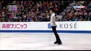 getlinkyoutube.com-羽生結弦 2015 スケートカナダ FS  ESP  (ドイツ語訳付)