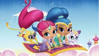 getlinkyoutube.com-Shimmer and Shine: Enchanted Carpet Ride Game - no narration - Smart Apps for Kids