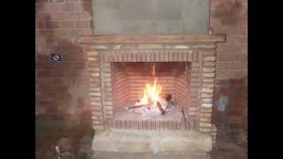 getlinkyoutube.com-Como hacer una chimenea rústica de ladrillos
