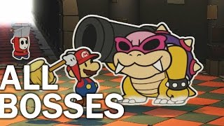 getlinkyoutube.com-Paper Mario Color Splash: All Bosses and Ending (1080p 60fps)